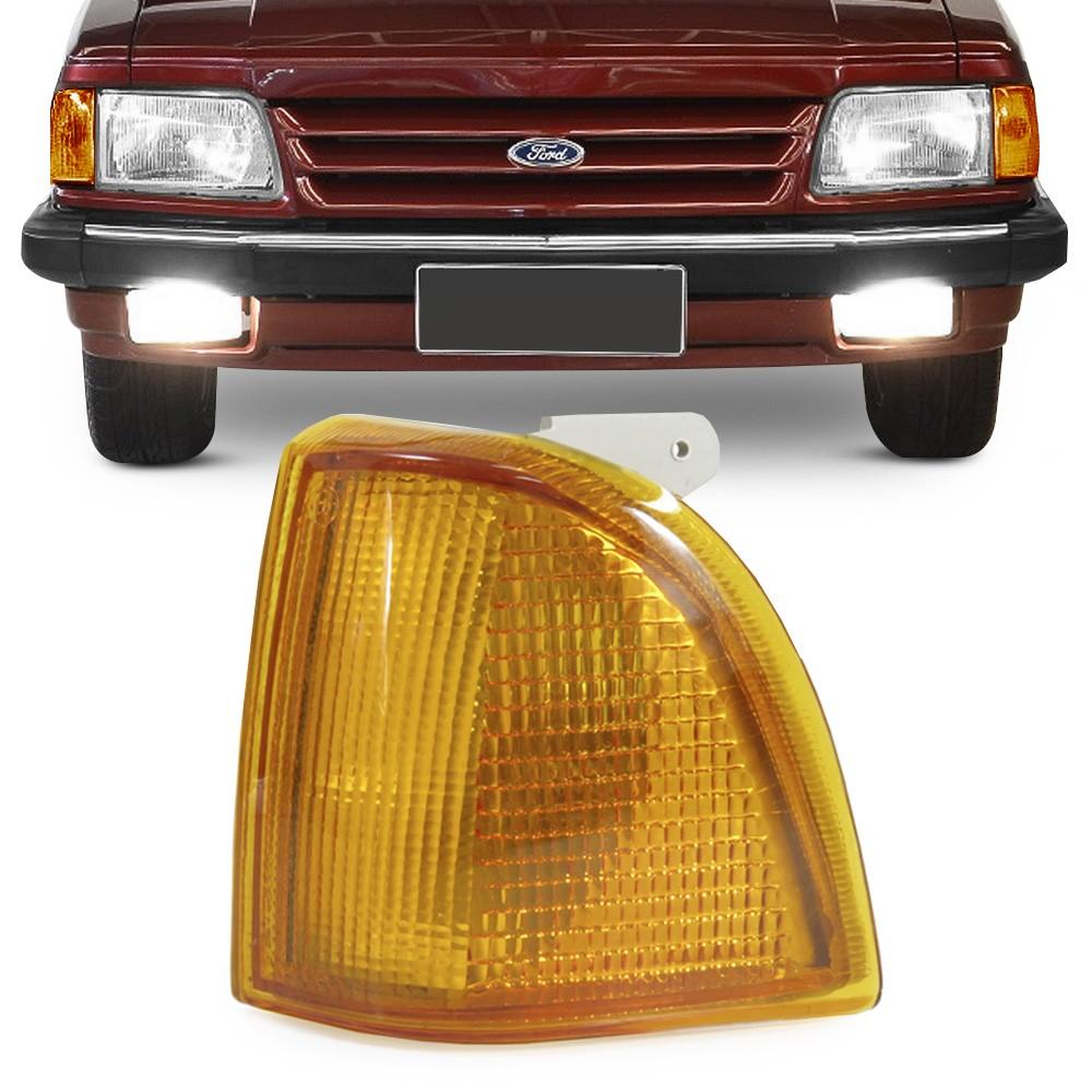 Lanterna Dianteira Del Rey 1985 a 1992 Pampa Belina Corcel Pisca Ambar