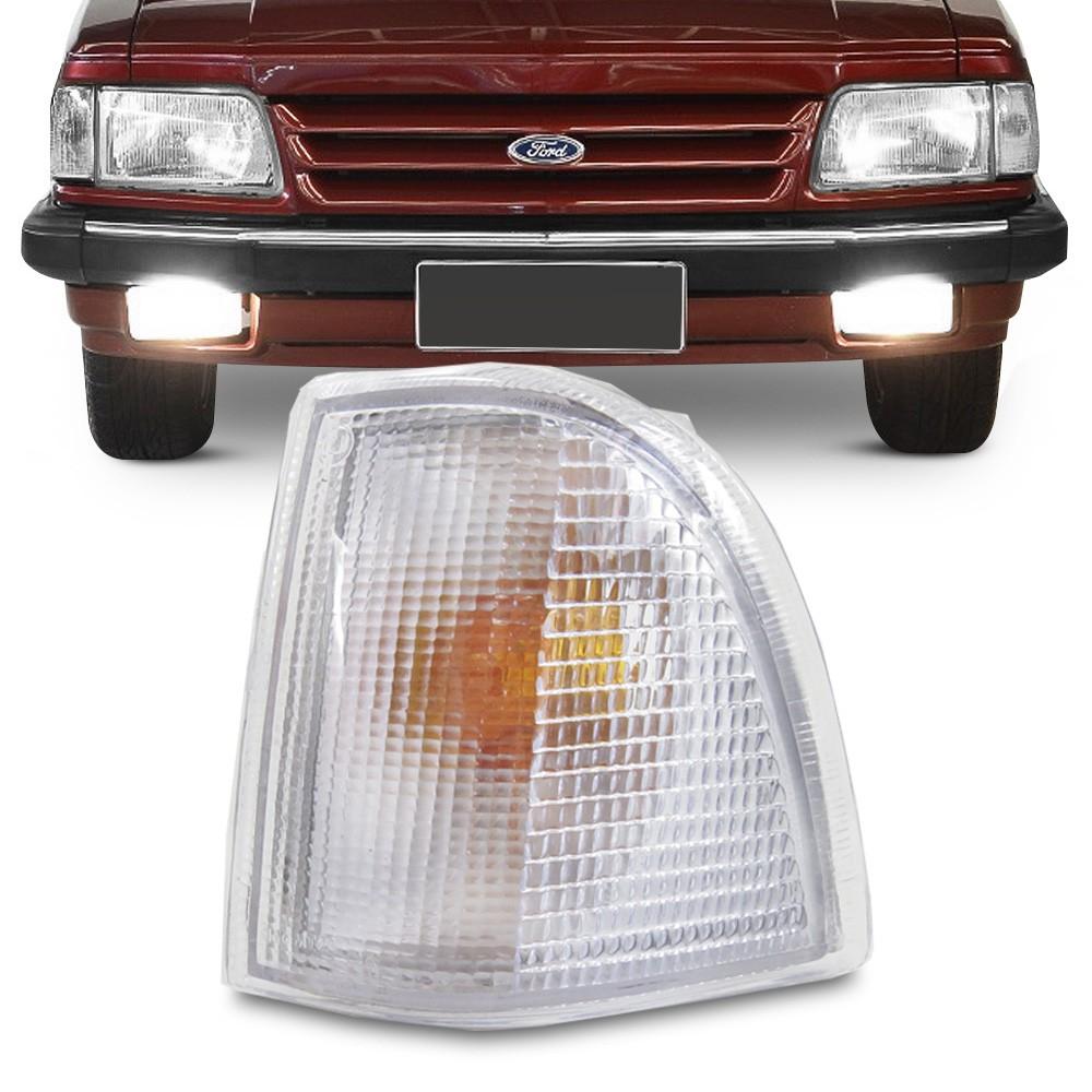 Lanterna Dianteira Del Rey 1985 a 1992 Pampa Belina Corcel Pisca Cristal