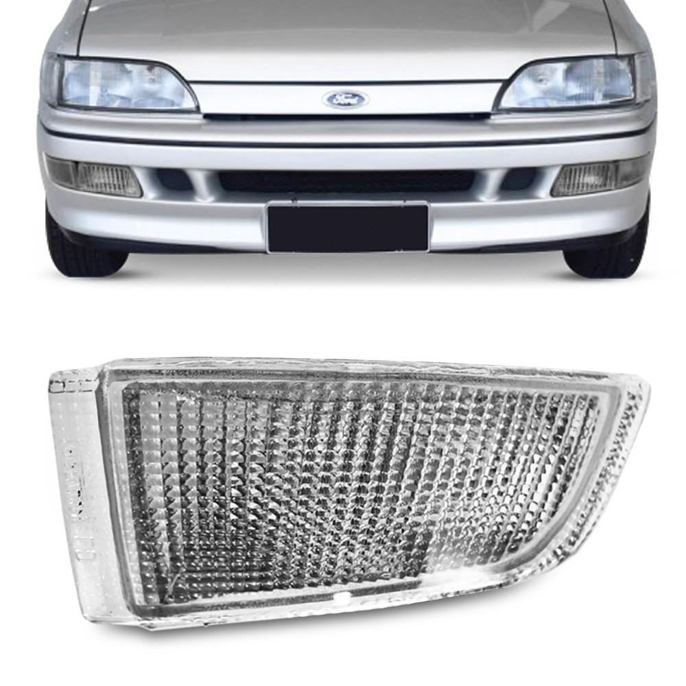 Lanterna Dianteira Escort XR3 1993 a 1995 Verona Ghia 1994 a 1995 Parachoque Cristal