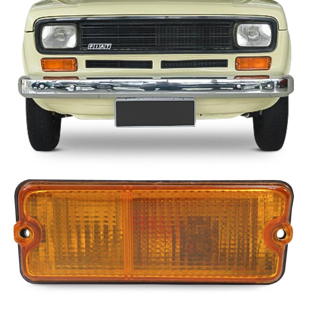 Lanterna Dianteira Fiat 147 1977 a 1984 Pisca Ambar