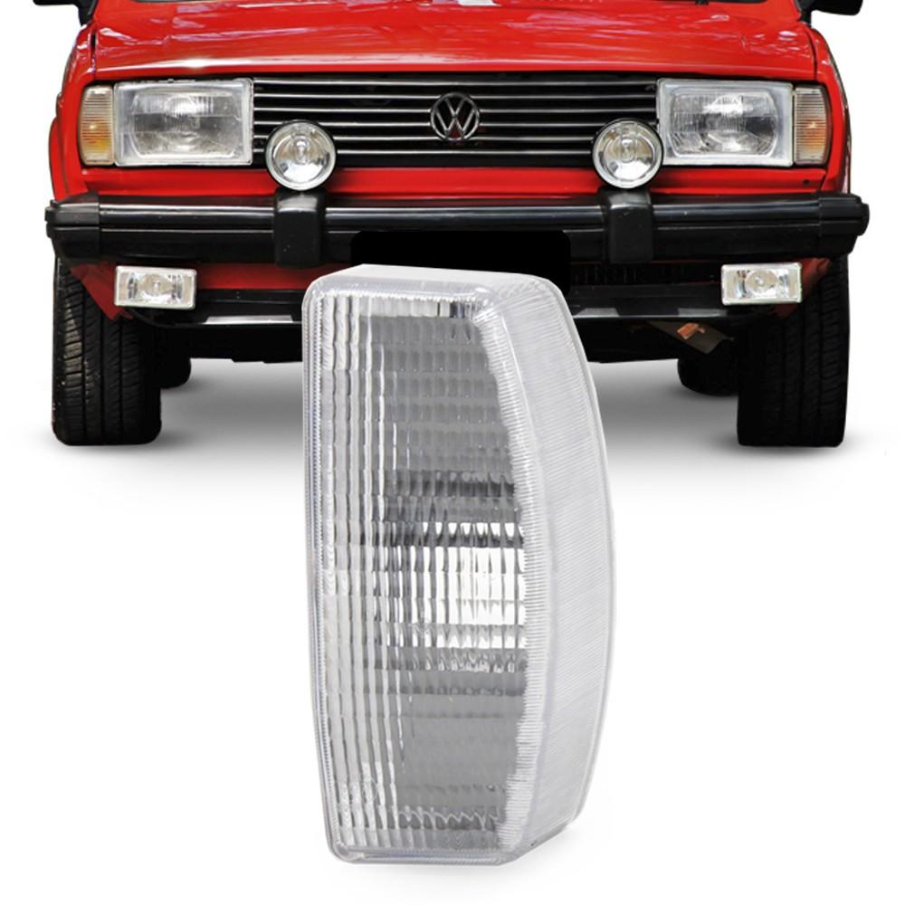 Lanterna Dianteira Gol Parati Saveiro Voyage 1982 a 1986 Pisca Cristal