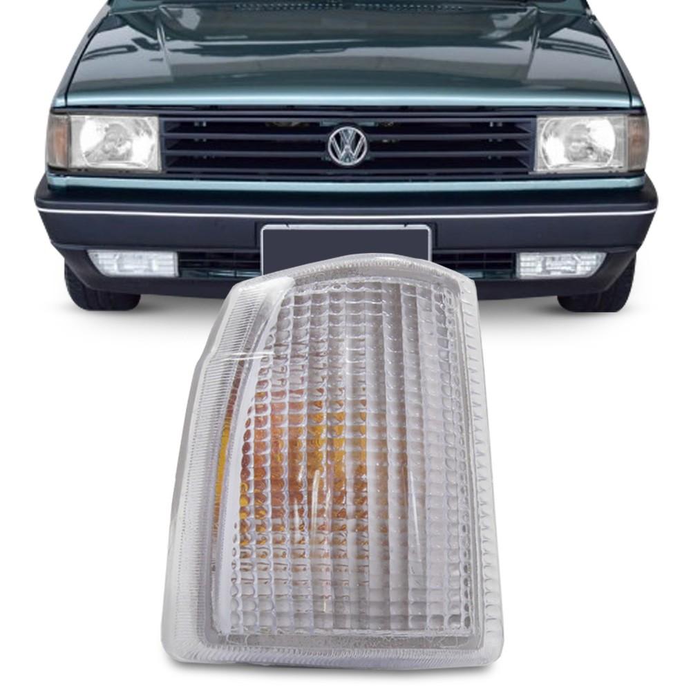 Lanterna Dianteira Gol Parati Saveiro Voyage 1987 a 1990 Pisca Cristal