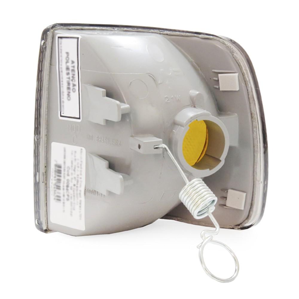 Lanterna Dianteira Gol Parati Saveiro Voyage 1991 a 1994 Pisca Fume Encaixe Cibie