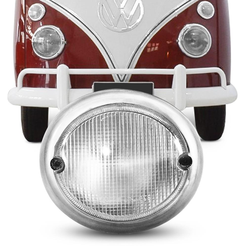 Lanterna Dianteira Kombi Corujinha 1962 a 1974 Pisca Cristal