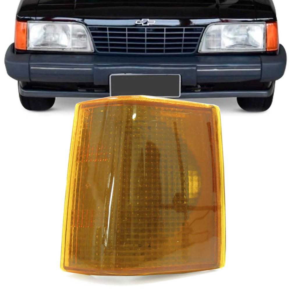 Lanterna Dianteira Opala 1988 a 1992 Caravan Pisca Ambar