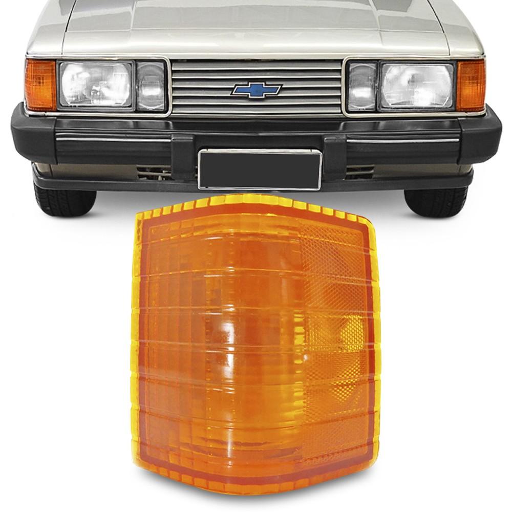 Lanterna Dianteira Opala Caravan 1980 a 1987 D-20 1985 a 1992 Pisca Ambar