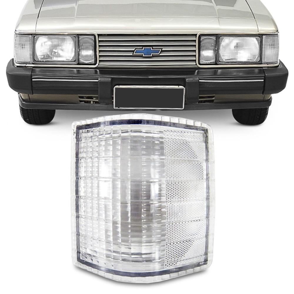 Lanterna Dianteira Opala Caravan 1980 a 1987 D-20 1985 a 1992 Pisca Cristal