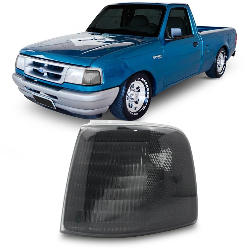 Lanterna Dianteira Ranger 1993 a 1997 Pisca Fume