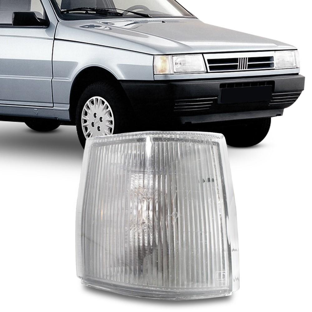 Lanterna Dianteira Uno Fiorino Premio Elba 1991 a 2003 Pisca Cristal