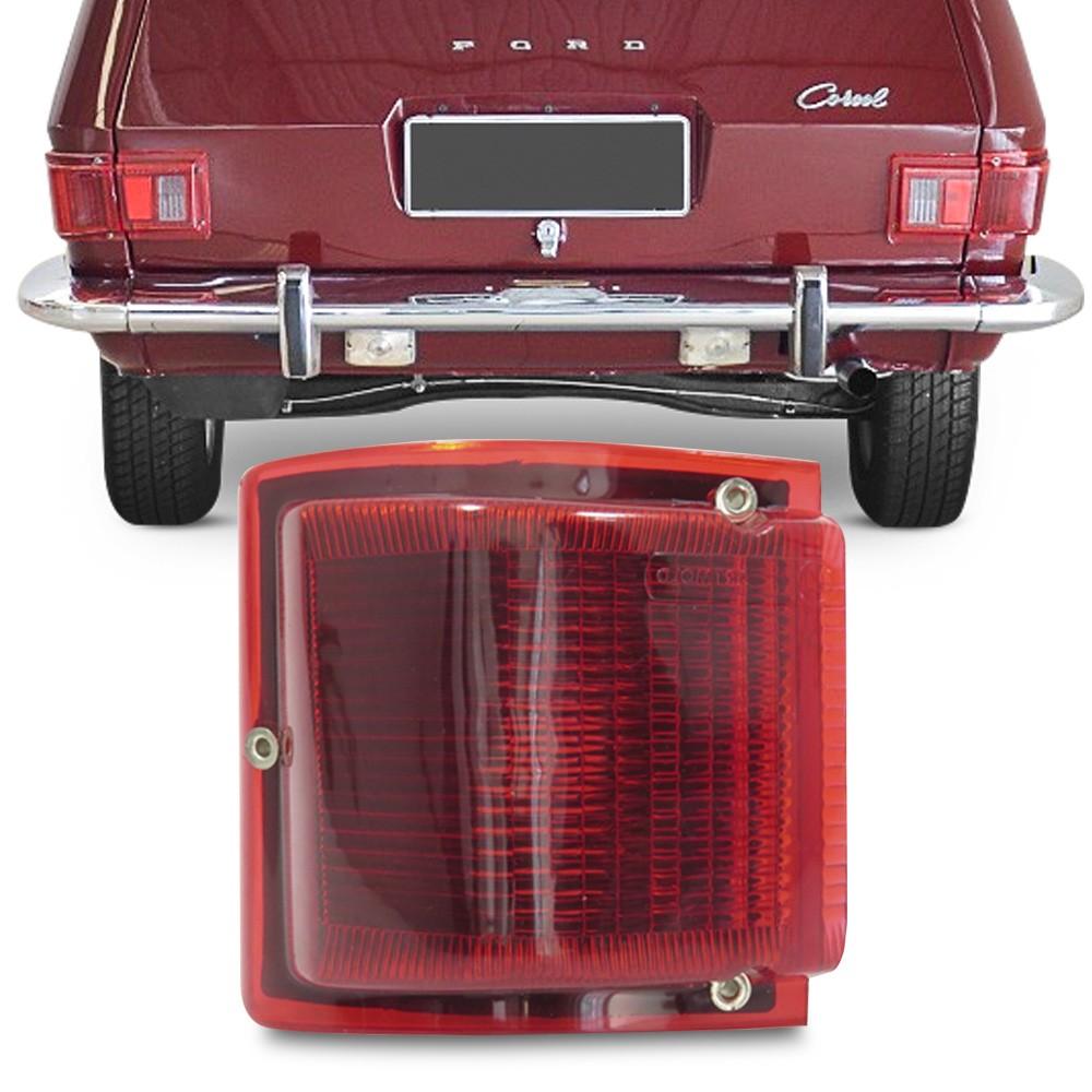 Lanterna Traseira Belina 1973 a 1977 Canto Rubi