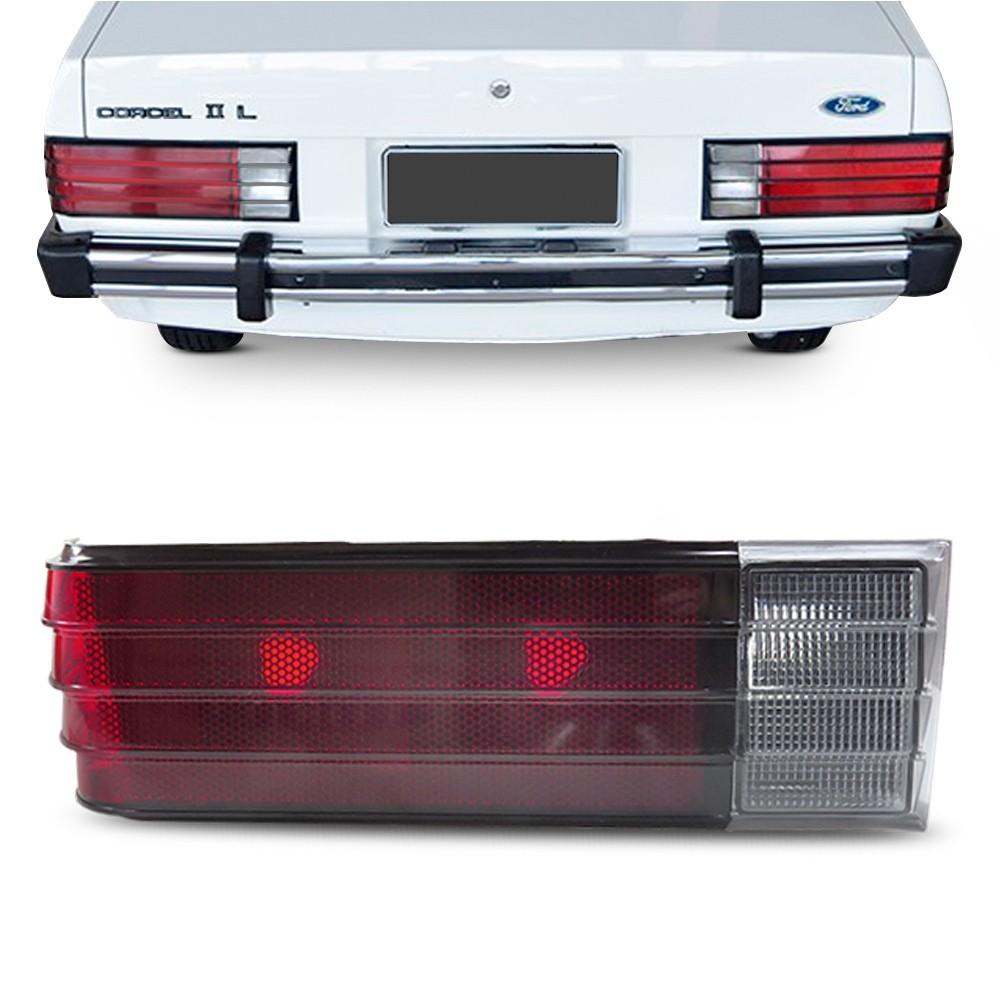 Lanterna Traseira Corcel 2 1978 a 1984 Sem Friso Rubi