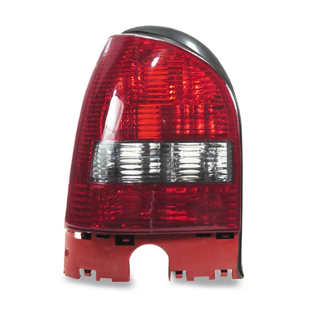 Lanterna Traseira Gol G3 1999 a 2005 Aba Preta Ré Fume