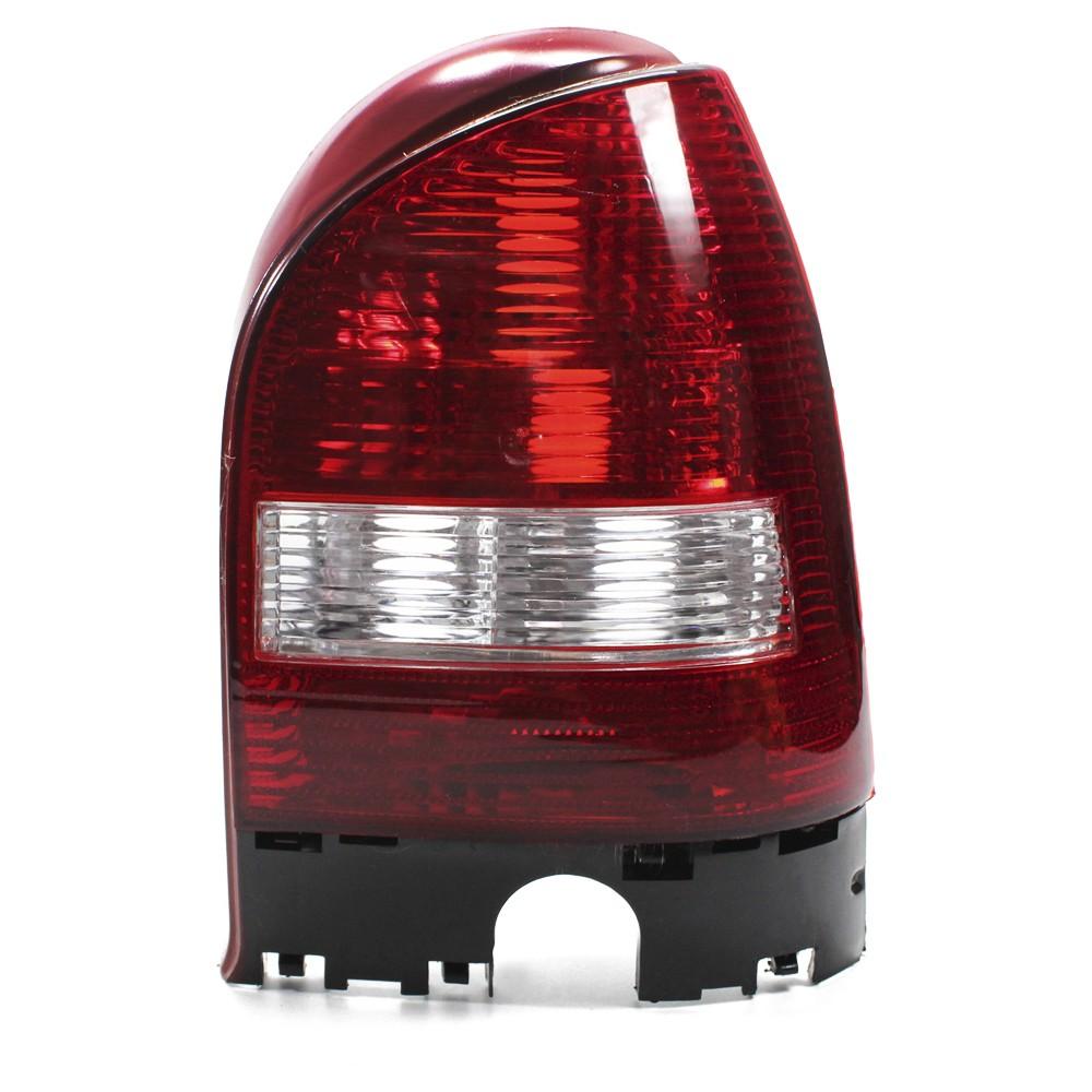 Lanterna Traseira Gol G3 1999 a 2005 Aba Vermelha Ré Cristal