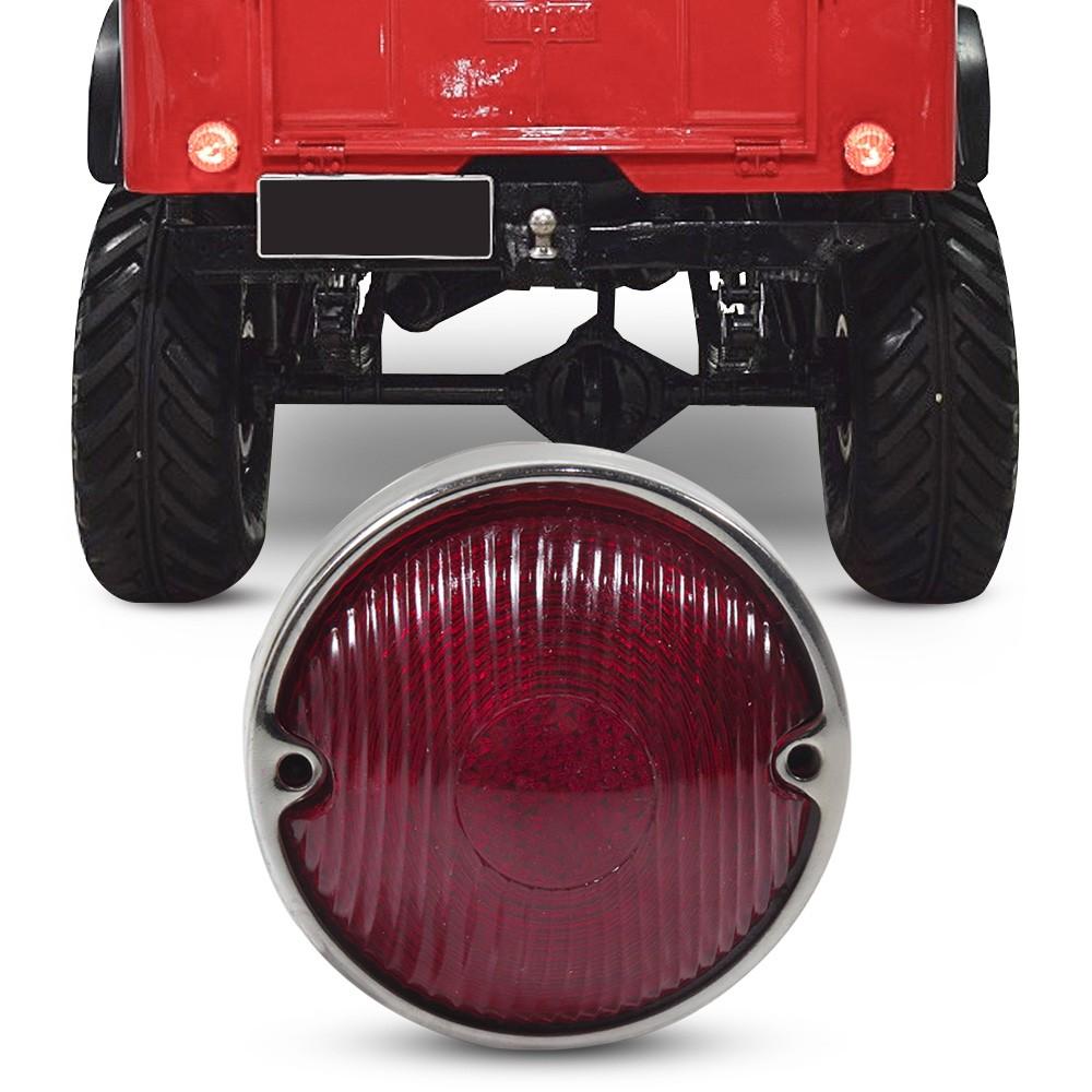 Lanterna Traseira Jeep Willys 1958 a 1979 Rubi