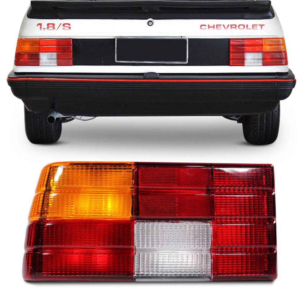 Lanterna Traseira Monza 1982 a 1990 Sem Friso Tricolor