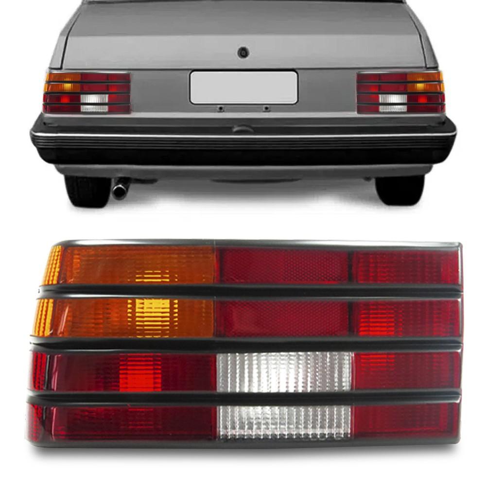 Lanterna Traseira Monza 1984 a 1990 Tricolor