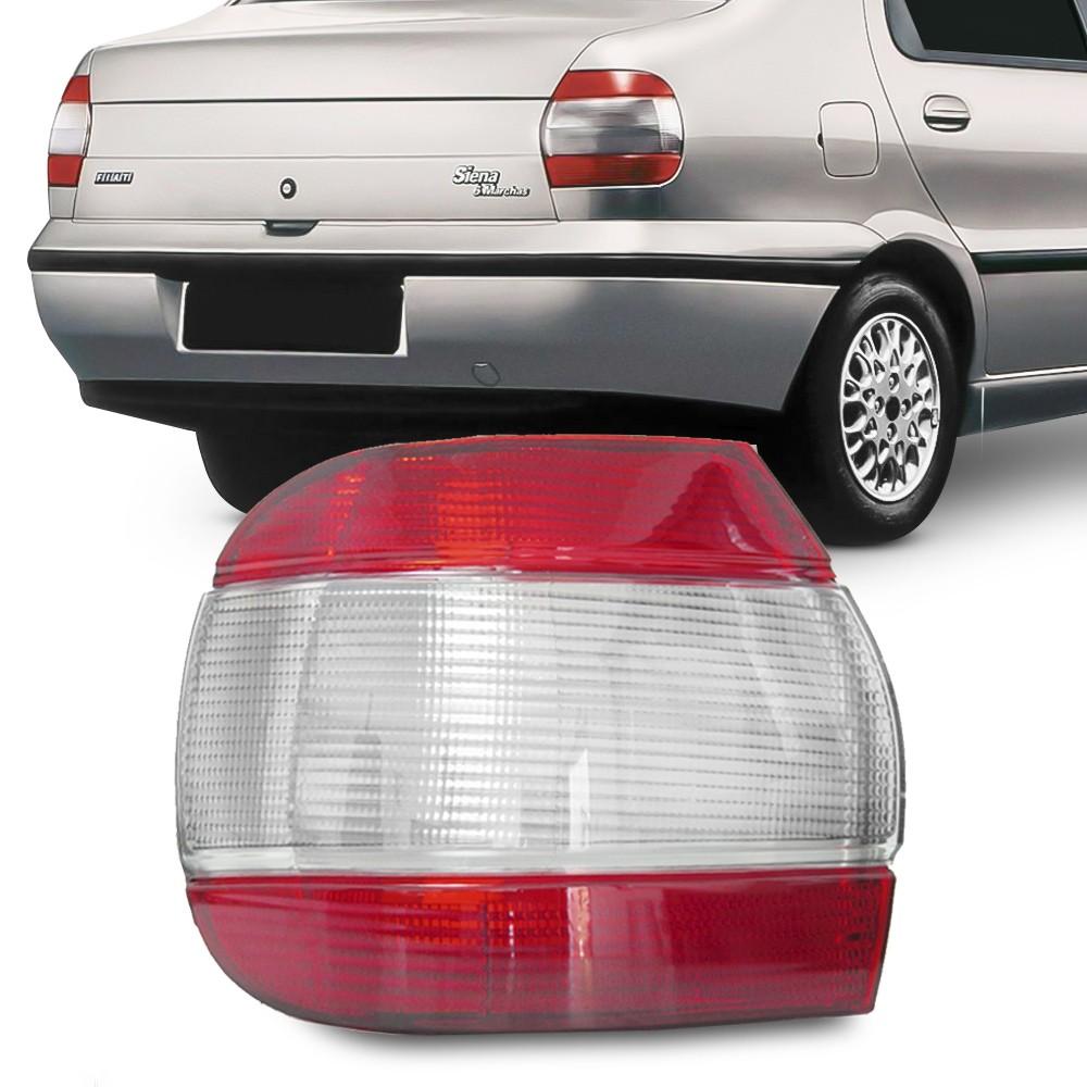 Lanterna Traseira Siena 1997 a 2000 Fume