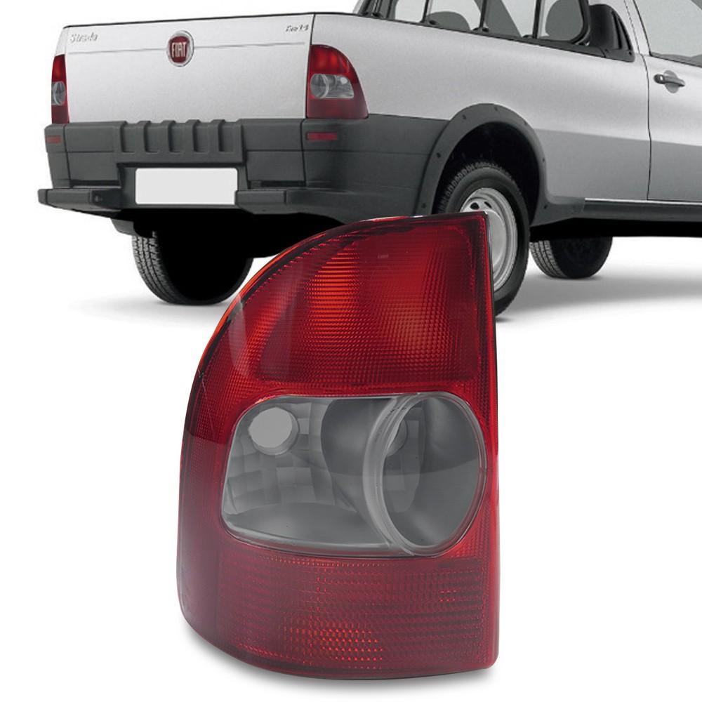 Lanterna Traseira Strada G2 2001 a 2004 Fume