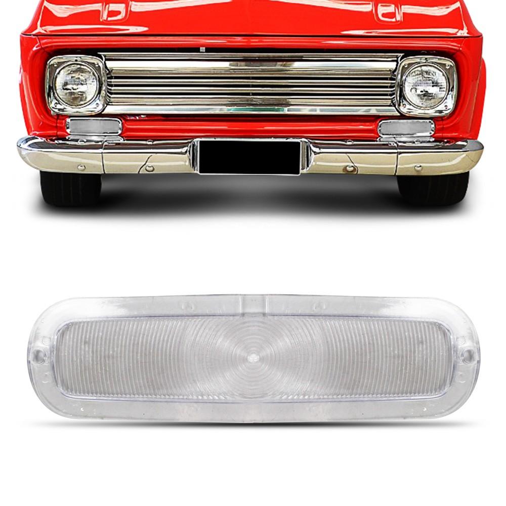 Lente Lanterna Dianteira C10 C14 1964 a 1982 Cristal