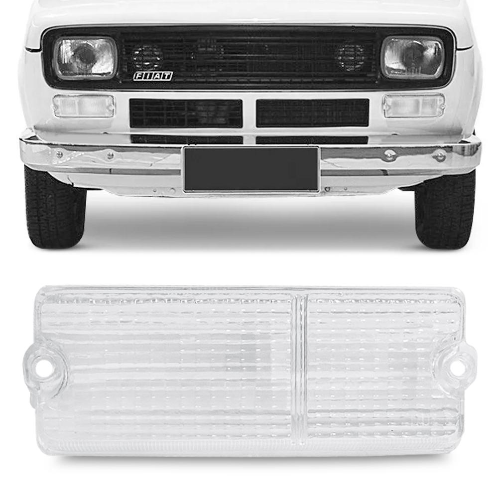 Lente Lanterna Dianteira Fiat 147 1976 a 1979 Cristal