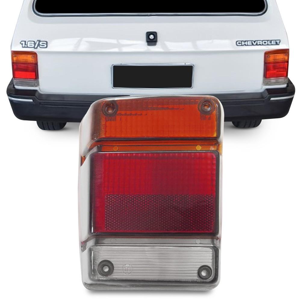Lente Traseira Chevy 1983 a 1994 Marajo Fume