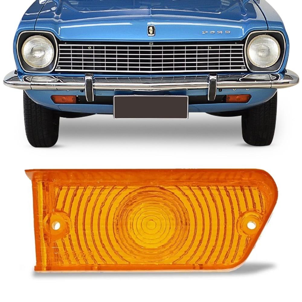 Lente Dianteira Corcel 1973 a 1974 Gt Luxo Ambar