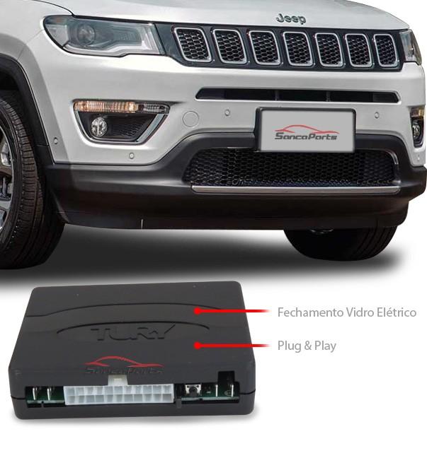 Modulo Vidro Eletrico Jeep Compass 2012 a 2016 Completo