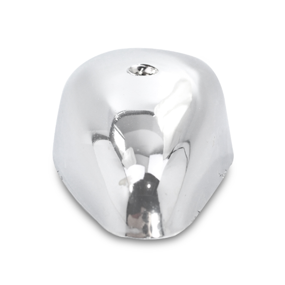 Par Capa Lanterna Dianteira Fusca 1963 a 1969 Cromada