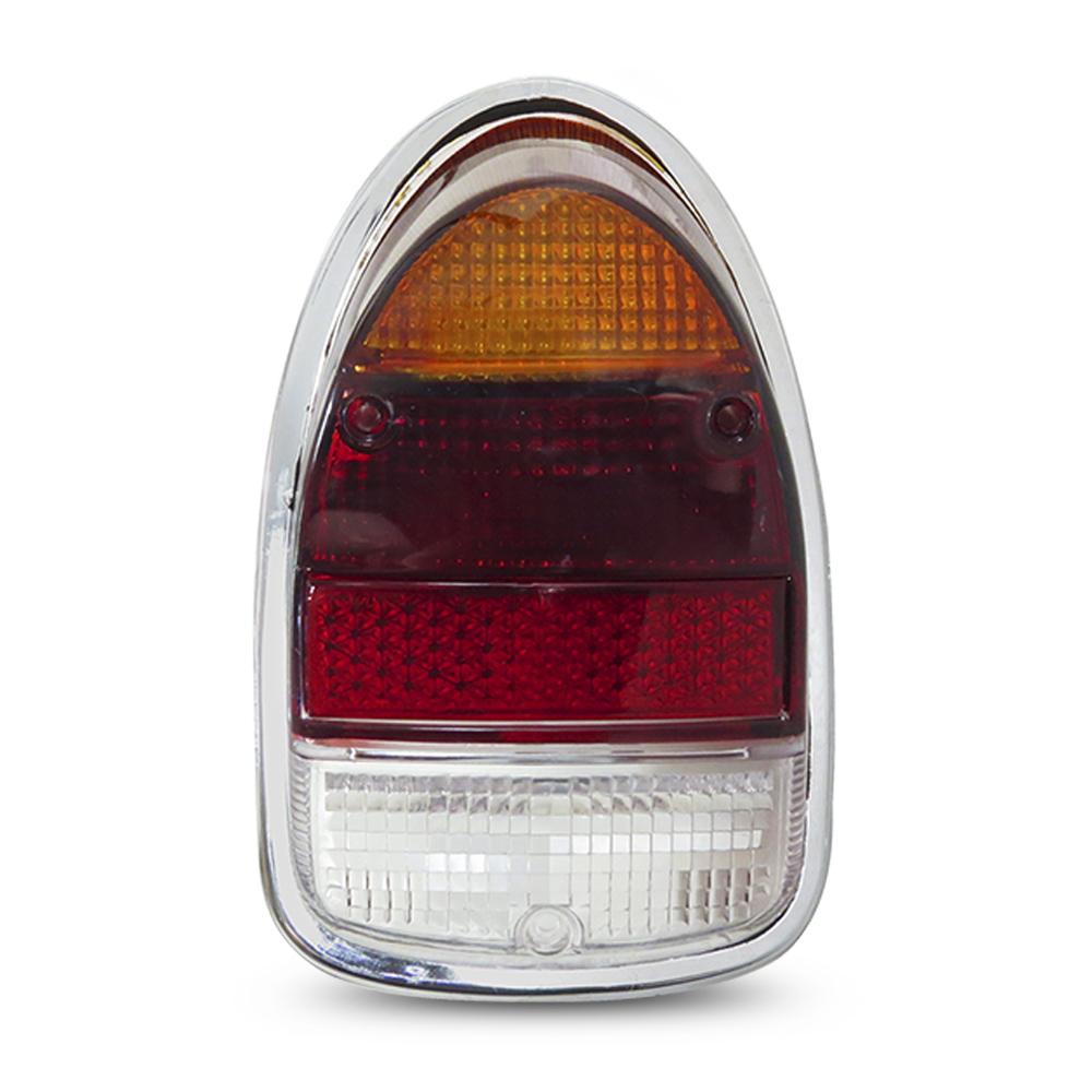 Par Lanterna Traseira Fusca 1300L 1500 Aro Soquete