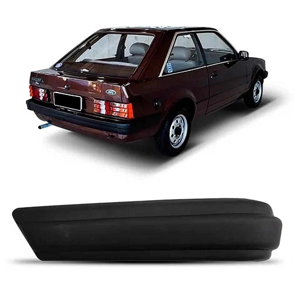 Ponteira Parachoque Escort GL Ghia XR3 1984 a 1986 Traseira