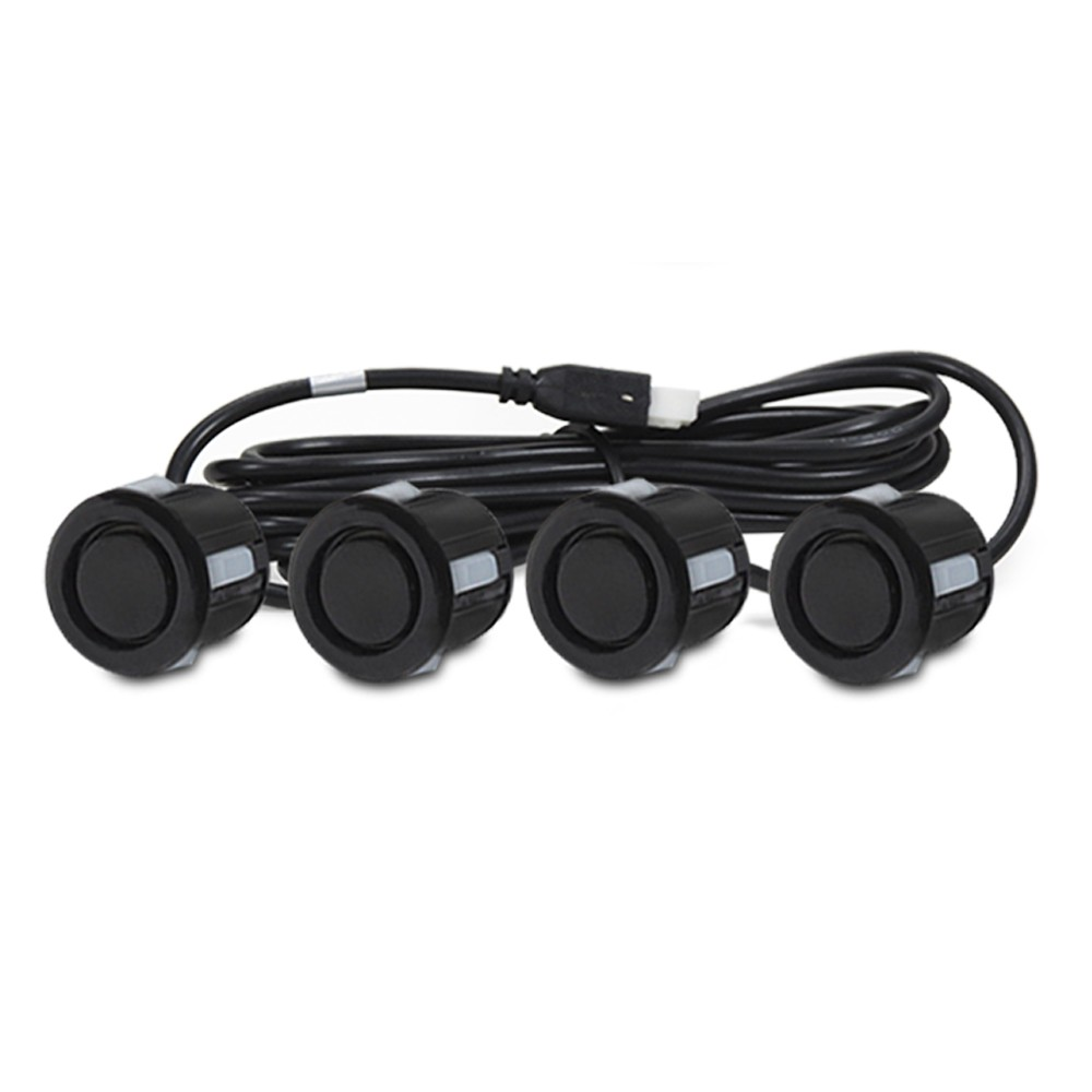 Sensor de Estacionamento 4 Pontos Preto Fosco