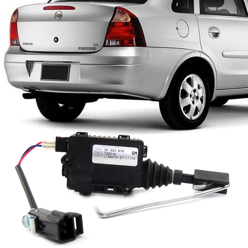 Trava Porta Malas Corsa 2002 a 2012 Eletrica
