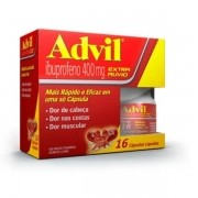 ADVIL 16 CAPSULAS LIQUIDA