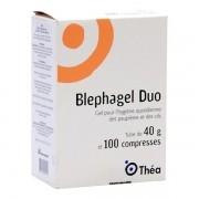 BLEPHAGEL 40GR 100 COMPRESSAS