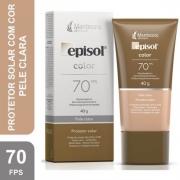 Episol Color Protetor Solar Pele Clara 70FPS 40g
