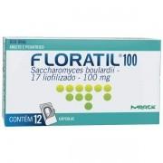 FLORATIL 100MG  12 CAPSULAS