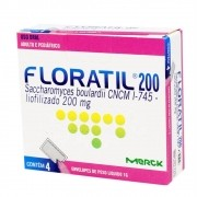 FLORATIL 200MG  4 ENVELOPES