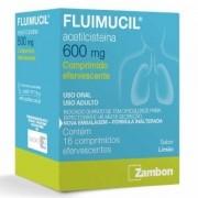 FLUIMUCIL 600MG 16EV