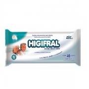 HIGIFRAL TOALHAS UMEDECIDAS ADULTO 40UN