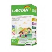 Lavitan Kids 60 Comprimidos Laranja Uva Limão