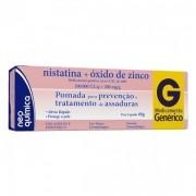 NISTATINA+ÓXIDO DE ZINCO POMADA 60GR NEO QUIMICA