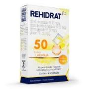 Rehidrat 50 po sabor laranja 4 envelopes