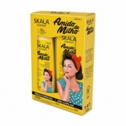 SKALA KIT SH+COND AMIDO DE MILHO 325ML