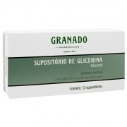 SUPOSITORIO GLICEDRINA AD GRANADO 12 SUP