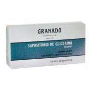 SUPOSITORIO GLICERINA INFANTIL 12UN GRANADO