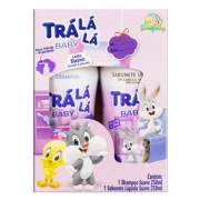 TRALALA SH SAB LIQ 250/250ML SUAVE