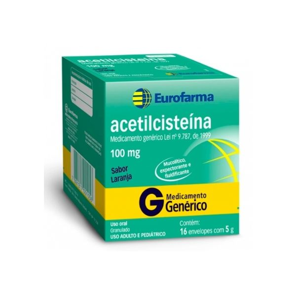 ACETILCISTEINA 600MG 16ENV