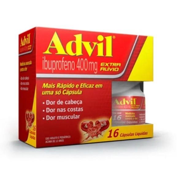 ADVIL 16 CAPSULAS LIQUIDA