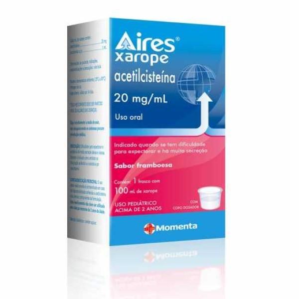 AIRES 20MG/ML XAROPE 100ML (Vál. 07/2021)