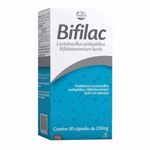 Bifilac 250mg com 30  Comprimidos